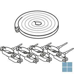 Bulex voorgeisoleerde koperen duobuis Ø8/10mm 20 meter | 0020136747 | LAMO