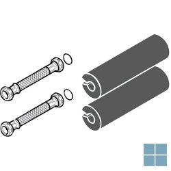 Bulex flexibel voor aan de warmtepomp (2pc) | 0020165289 | LAMO