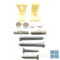 Dur. bevestigingsset voor staand bidet , wc of urinoir | 0067021000 | LAMO