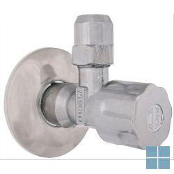 Schlosser hoekstopkraan zonder teflon 1/2 m x 10 mm | 0071051550001 | LAMO