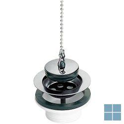 Nicoll plug stop met ketting 5/4 x 63 inox l260 | 0201019 | LAMO