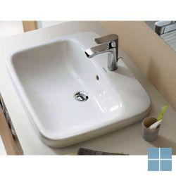 Dur. durastyle inbouw 1 kraangat 56x45.5 cm wit keramiek | 0374560000 | LAMO