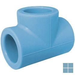 Niron ppr t-stuk blauw dia 40 | 03NT40 | LAMO