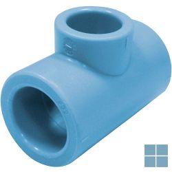 Niron ppr reductie-t blauw dia 32 x 25 x 32 | 03NTR322532 | LAMO