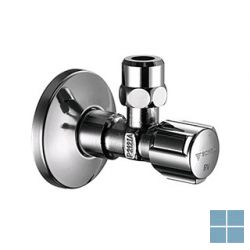 Schell hoekregelkraan dubbele terugslagklep 1/2 m x 10 mm | 052760699 | LAMO
