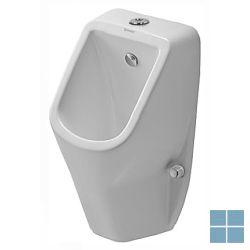 Dur. d-code urinoir zichtbare toevoer , z vlieg 30.5x29 cm wit keramiek | 0828300000 | LAMO