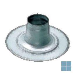 Bulex kit doorgang plat dak alu-pp Ø 60/100 - 80/125 | 08510700 | LAMO