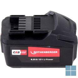 Rothenberger li-hd power accu 18v/4,0ah ro bp18/4 | 1000001653 | LAMO