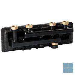 Watts flowbox kringverdeler met isolatie  voor 2 kringen 4/4 | 10025900 | LAMO
