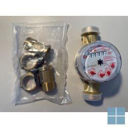 Fixaflex warmwaterteller 4/4 x 3/4 +2k | 10.20.SD.HW | LAMO