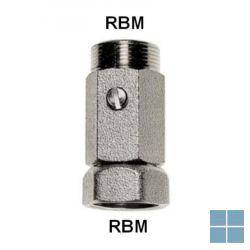 Rbm kogelafsluiter voor rbm collector | 1080000 | LAMO