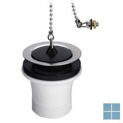 Viega afvoerplug met ketting rvs/kunsstof 6/4 x 70mm | 109233 | LAMO