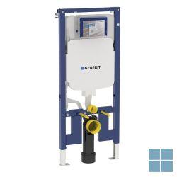 Geberit duofix-element voor hang-wc 114 cm met sigma inbouwspoelr 8 cm | 111.796.00.1 | LAMO