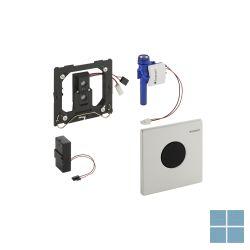 Geberit urinoirspoeling infrarood mambo batterij inox | 116.033.FW.1 | LAMO