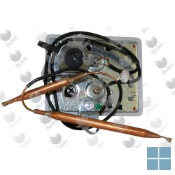 Bulex thermostaat bipolair 2 voelers 4-5-6-4000 | 1457078 | LAMO