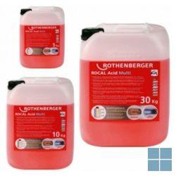 Rothenberger reinigingsmiddel rocal acid multi 10 kg | 1500000116 | LAMO