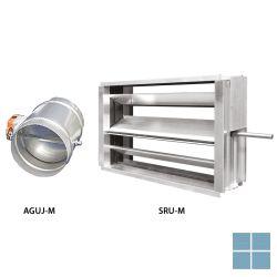 Ventilair regelklep met motor aguj-m-315 + lf24 | 1509000086 | LAMO