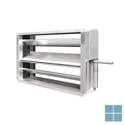 Ventilair sru-m-300x400 + lf24 regelklep met motor | 1509000234 | LAMO