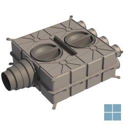 Ubbink luchtverdeelkast dbox 8 aansl dia (50-60)x100 (ae355sc/ae55sc) | 188583 | LAMO
