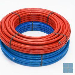 Rbm pe-rt/al/pe-rt 26x3 isol rood rol 25m prijs/m (300m/pal ) | 19462650 | LAMO