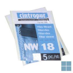 Cintropur filtervliezen nw18 5micron (5st) | 19.87.18 | LAMO