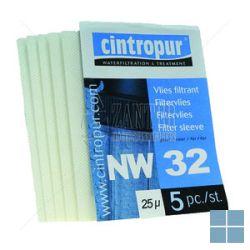 Cintropur filtervliezen nw32 25micron (5st) | 19.90.32 | LAMO