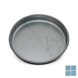 Ventilair galva deksel buis dia 100 met rubber | 2002000987 | LAMO