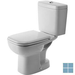 Duravit Staand toilet d-code verticaal 14 cm, wit | 21140100642 | LAMO