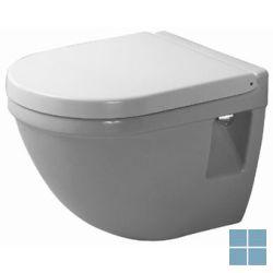 Dur. starck 3 hangtoilet compact 48.5x36 cm wit keramiek (os) | 2202090000 | LAMO