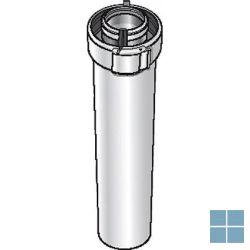 Ubbink concentrische buis 500mm alu/kunststof dia 60/100 | 227351 | LAMO