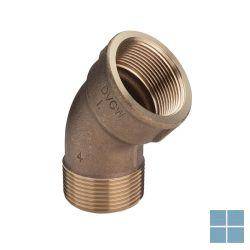 Viega brons bocht 45° mf dia 4/4 | 264161 | LAMO
