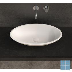 Ideavit solidjazz 60x35x9cm solid surface opzetkom ovaal | 278599 | LAMO