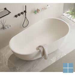 Ideavit solidsurf vrijstaand bad 170x88x56cm wit mat | 278606 | LAMO