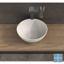 Ideavit solidthin opzetkom dia. 39xh14,5cm rond wit mat | 280181 | LAMO