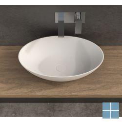 Ideavit solidthin-ov opzetkom 60x40x14,5cm ovaal mat wit | 284773 | LAMO