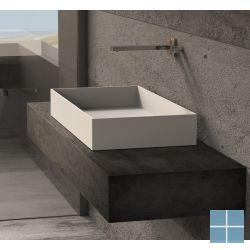 Ideavit opzetkom solidjoy-75 750 x 375 x 110 mm wit mat   290026   LAMO