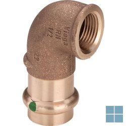 Viega profipress brons bocht 90° dia 22 x 1/2f | 298234 | LAMO