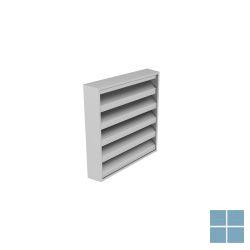 Ventilair opbouw muurrooster alu met gaas dia 225 x 225 | 3007000019 | LAMO
