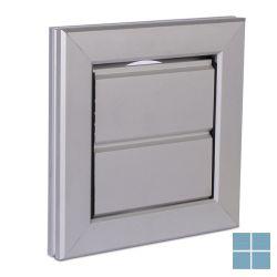 Ventilair opbouw muurrooster alu met gaas dia 205 x 205 | 3007000036 | LAMO