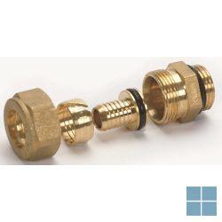 "Begetube vpe aansluitnippel 1/2"" m (o-ring) x 14x2 mm | 301010509 | LAMO"
