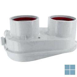 Vaillant adapter 80/80 alu voor turbomag 14 + 17 | 303847 | LAMO