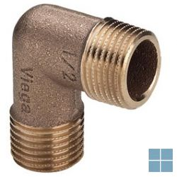 Viega brons bocht 90° mm dia 1/2 | 317973 | LAMO
