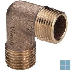 Viega brons bocht 90° mm dia 3/4 | 317980 | LAMO