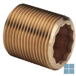 Viega brons draadnippel 80mm dia 4/4m | 319236 | LAMO