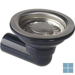 Franke ventiel, 3 1/2, 1 bak, zeefkorfplug, zonder overl | 330812 | LAMO