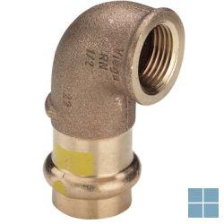 Viega profipress gas brons bocht 90° dia 18 x 1/2f | 345846 | LAMO