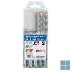 Arymex set boren sds casette °5-6x110mm/6-8-10x160mm | 34A807056801 | LAMO