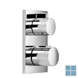 Dornbracht inbouwthermostaat afwerkset 3 systemen chroom | 36426670-00 | LAMO