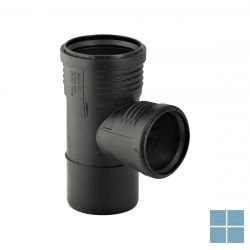 Geberit silent-pp t-stuk 87.5° d=110m, d1=75mm | 390.549.14.1 | LAMO