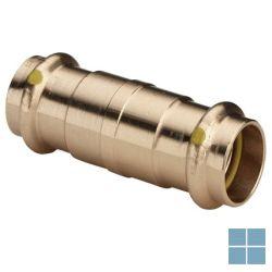 Viega profipress gas brons schuifmof dia 15 | 394165 | LAMO